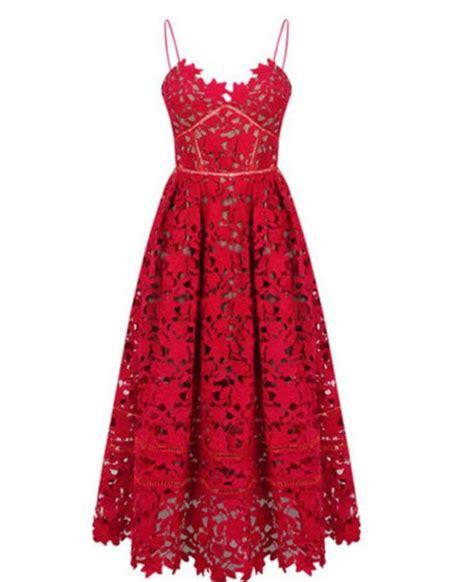 dress dress fashion style midi dress girly lace