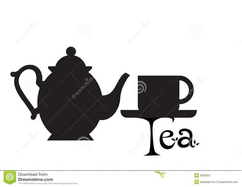 Tea Pot Silhouette Royalty Free Stock Photography   Image: 5630397