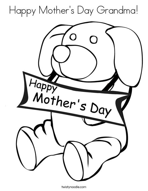 printable coloring pages for grandma free mothers day coloring pages for grandma