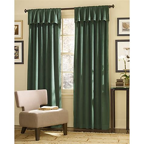 hunter green curtain panels j queen new york dillon foldover 108 inch window curtain