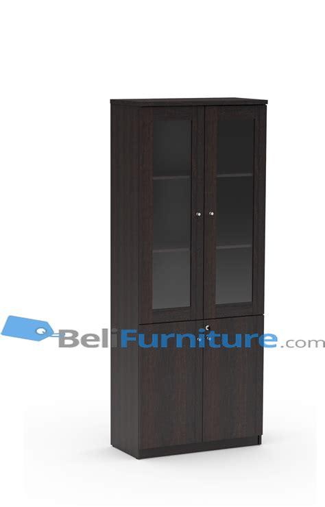 Lemari Arsip Kayu 3 Pintu grand furniture ga ahc 3 lemari arsip pintu kayu dan