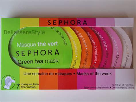 Di Sephora sephora maschere in tessuto bellesserestyle