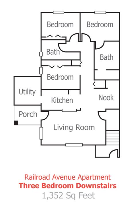 railroad apartment floor plan floor plans and pricing for the railroad apartments