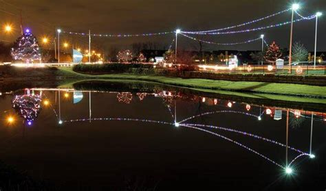 Heartspring To Move Light Display Downtown The Wichita Lights Wichita Ks