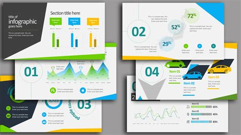 35 Free Infographic Powerpoint Templates To Power Your Presentations Powerpoint Infographic Templates