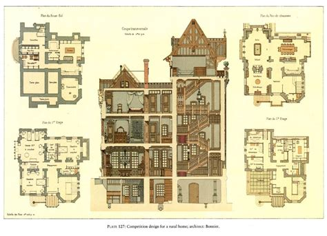 home design eras era mansion floor plan