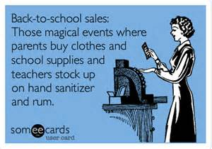 back to school sales those magical events where parents buy clothes and school supplies and