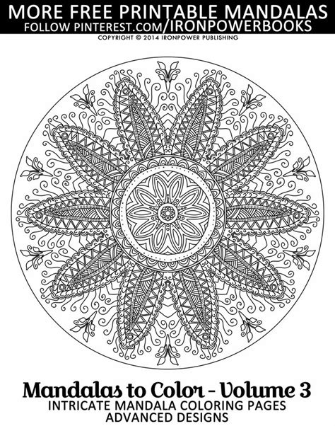 intricate mandala coloring pages free 723 best mandala colouring pages to print images on