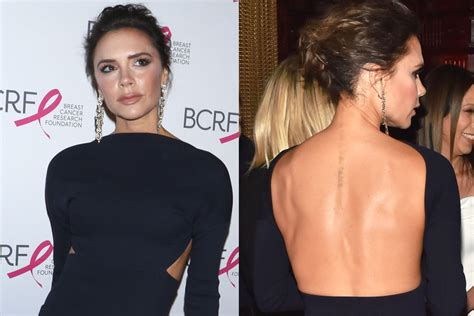 victoria beckham tattoo removal beckham pink 2017 photos