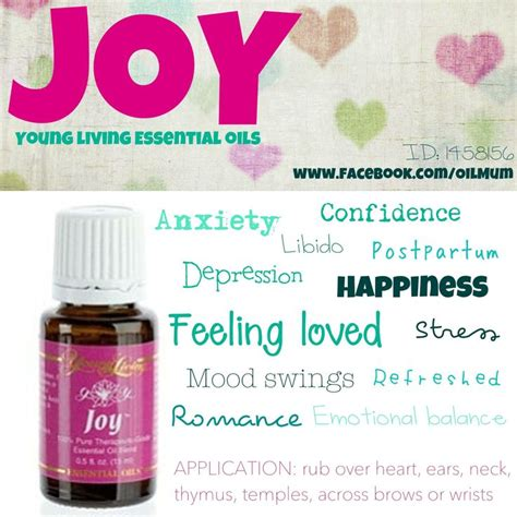 essential oils for mood swings joy young living essential oils feeling loved