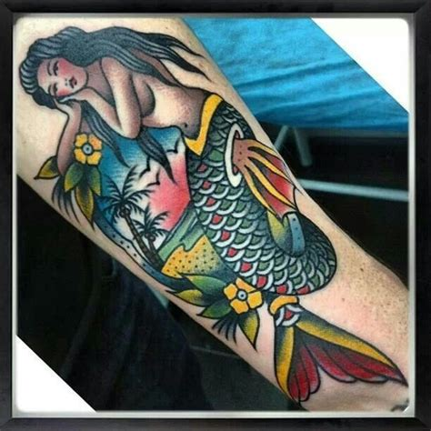 traditional mermaid tattoo best 25 traditional mermaid tattoos ideas on