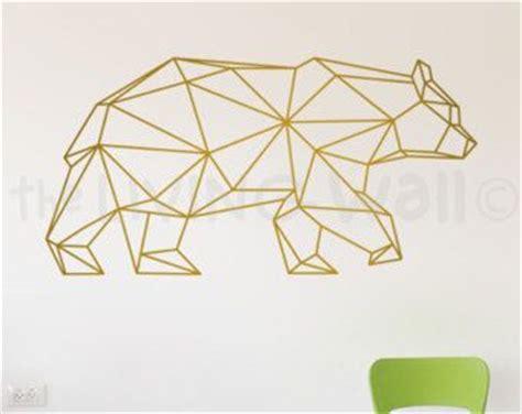 Bear Wall Stickers 17 meilleures id 233 es 224 propos de geometric animal sur