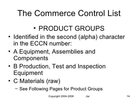 supplement 1 to part 774 alphabetical index to the commerce list pdf