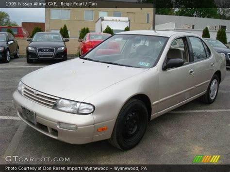 1995 nissan altima engine for sale beige pearl 1995 nissan altima gxe interior