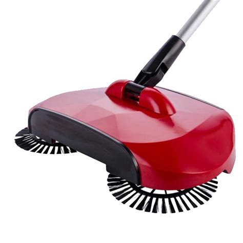 Floor Sweeper With Rotating Brushes ? Boardwalkbuy