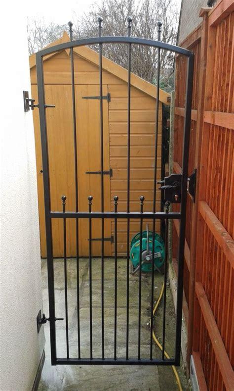 york gates tall single metal gate