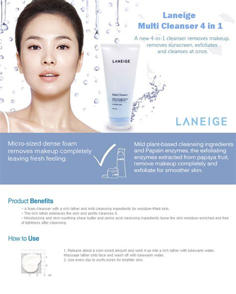 Laneige Multi Cleanser laneige multi cleanser 180ml hermo shop