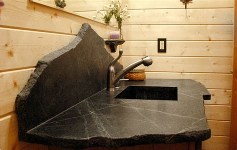Black Soapstone Countertop by Update To Countertop Options Fence Row Furniture