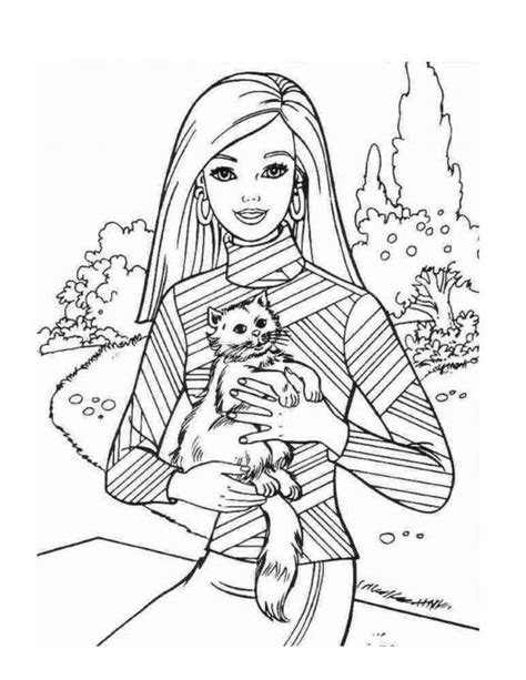 free coloring pages of barbie ballerina free