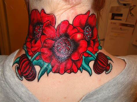 different flower tattoos best tattoos for poppy