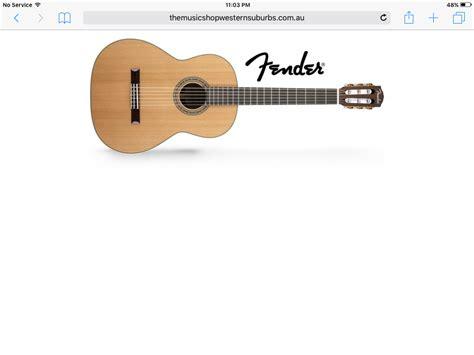 Senar Fender Nilon Clasik fender fc 1 classic guitar beggs