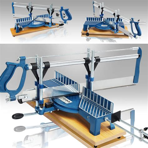 mechanical mitre box adjustable hand  woodworking tools