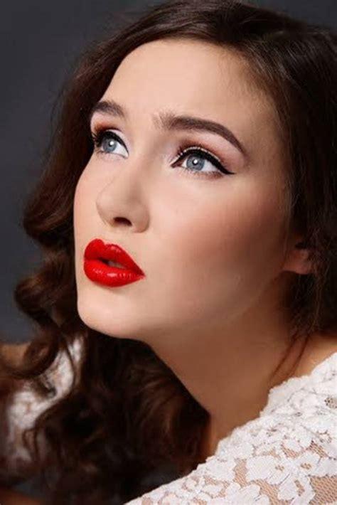 imagenes maquillaje retro tendencias maquillaje 2015 blogmujeres com