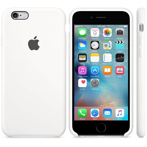 apple iphone  silicone case white