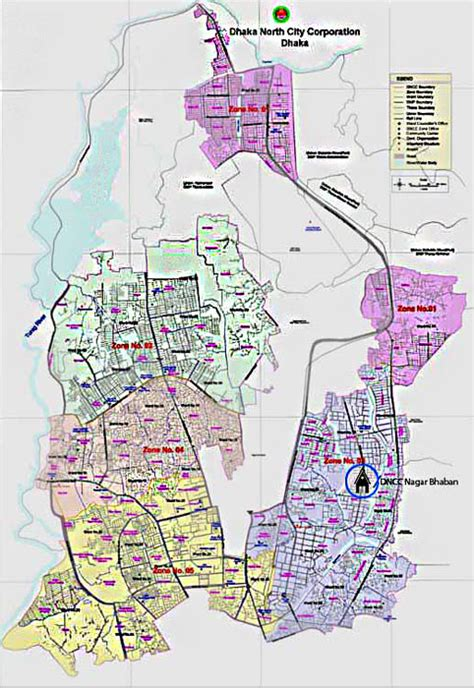 dhaka city road map dhaka city map south and city corporation