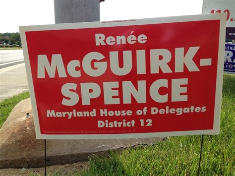 Maryland House Of Delegates by Caign Signs 2014 Maryland House Of Delegates District 12 Civility And