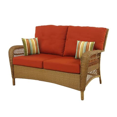 msl charlottetown outdoor loveseat with quarry