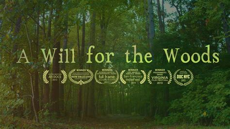 A Place Trailer Vimeo A Will For The Woods Official Trailer On Vimeo