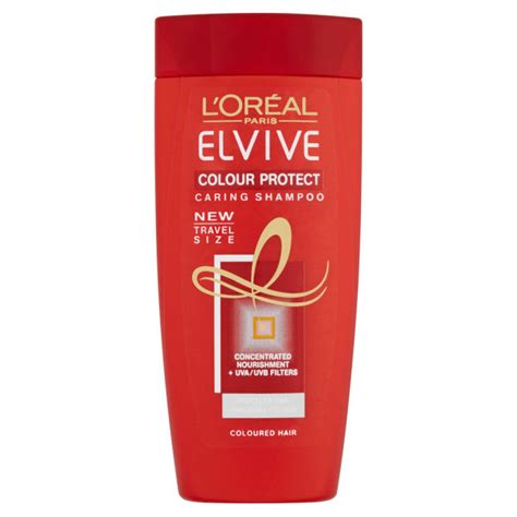 Shoo Loreal Smooth Caring l oreal elvive colour protect caring shoo 50ml