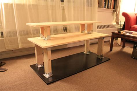 making a computer desk 21 diy standing or stand up desk ideas guide patterns