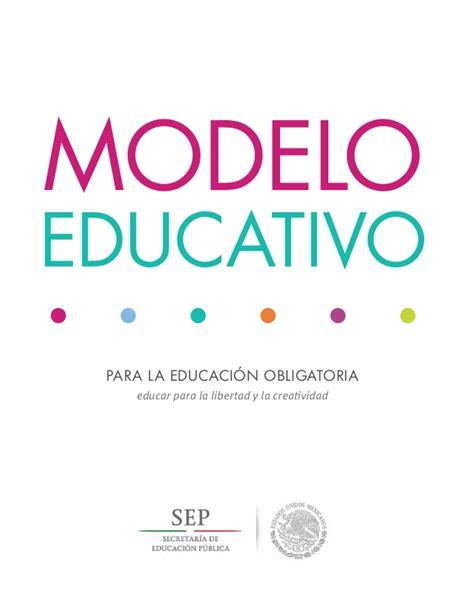 modelo de la evaluacion nacional aprender 2016 modelo educativo 2017