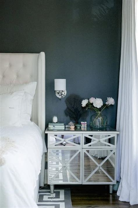 tufted wingback bed contemporary bedroom atmosphere