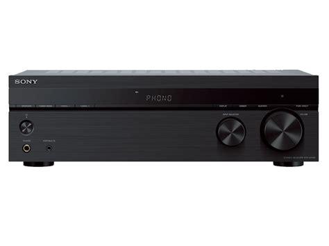 sony strdh stereo receiver  phono input