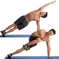 best 25 oblique crunches ideas on