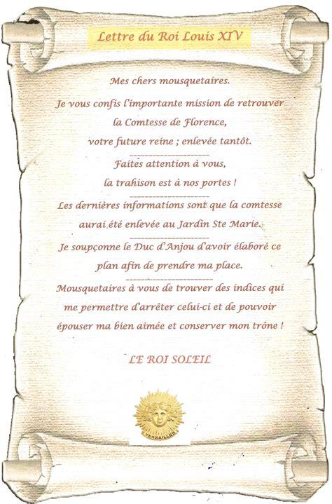 Lettre De Cachet De Louis Xiv Les Mousquetaires Du Roi Louis Xiv Latoilescoute
