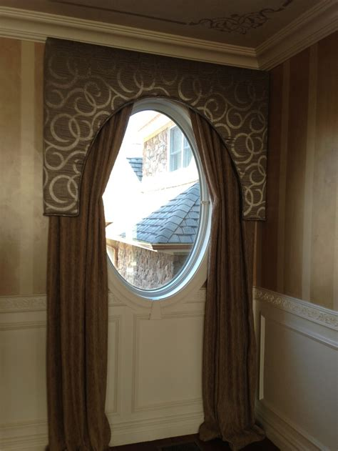 curtains for oval windows solution for an oval window window treatments