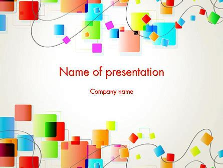 Psychedelic Funky Abstract Powerpoint Template Backgrounds 13177 Poweredtemplate Com Funky Powerpoint Templates