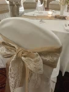 burlap chair sash chandeliers pendant lights