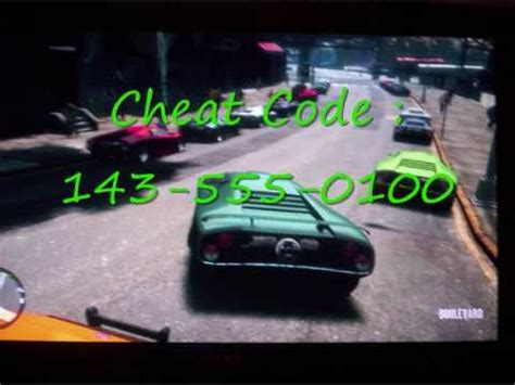 gta iv infernus cheat ! ( working 100% ) youtube