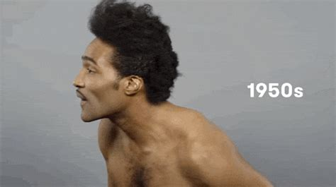african american mens hair styles 1950s 100 years of beauty the black man s hairstyle transition