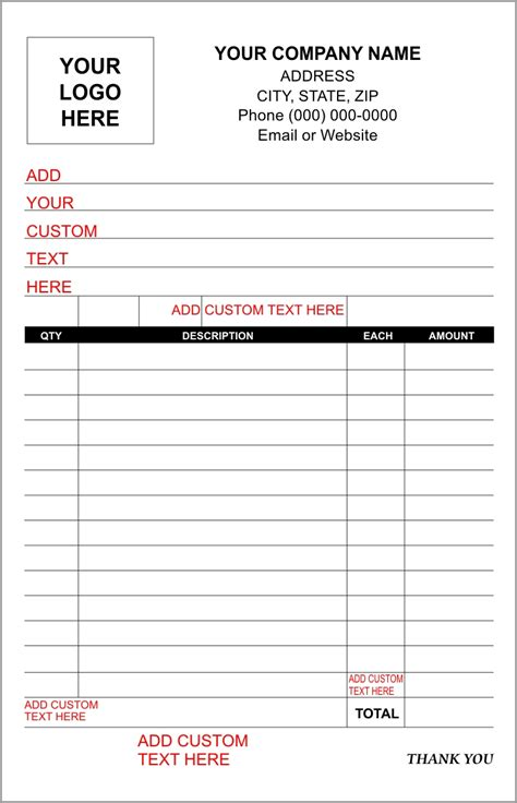will receipt template sales receipt template forms create custom receipt