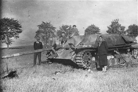 F Der 1 4 L70 80tmbx a abandoned jagdpanzer iv l70 now adorns a field as a source of curiosity for the local