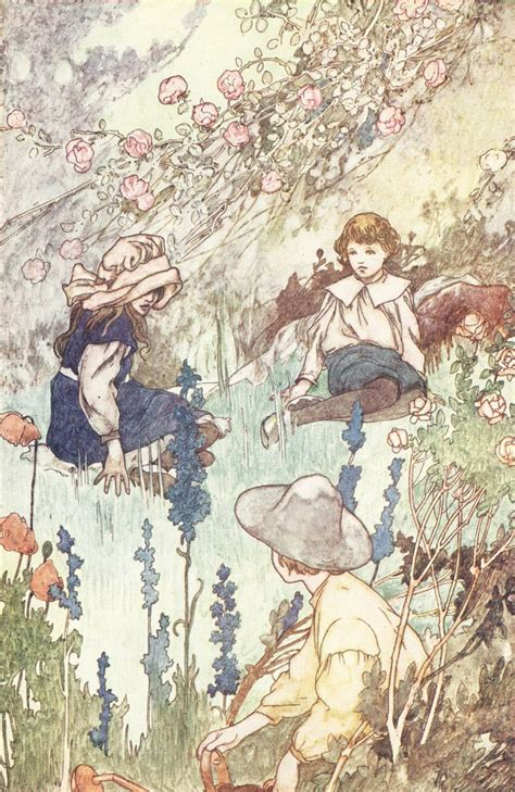 Secrets Of The Charles charles robinson illustration for quot the secret garden