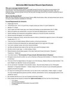 Standard Professional Resume Format by Doc 7715 Canadian Standard Resume Exle 20 Related