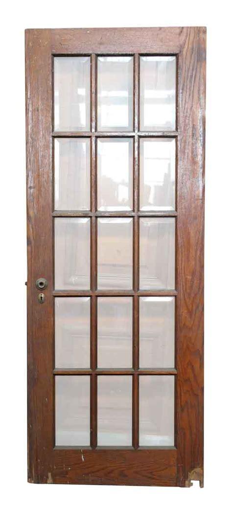 Beveled Glass Interior Doors 15 Beveled Glass Panel Wood Door Olde Things