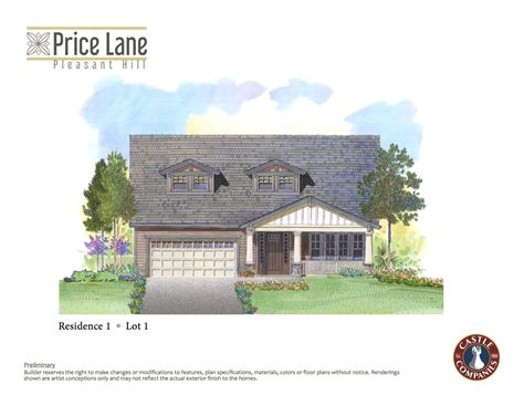 Handcrafted Homes Price List - 100 custom home plans and pricing colors house plans